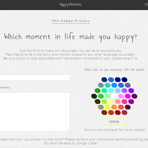 Happy Project webdesign preview